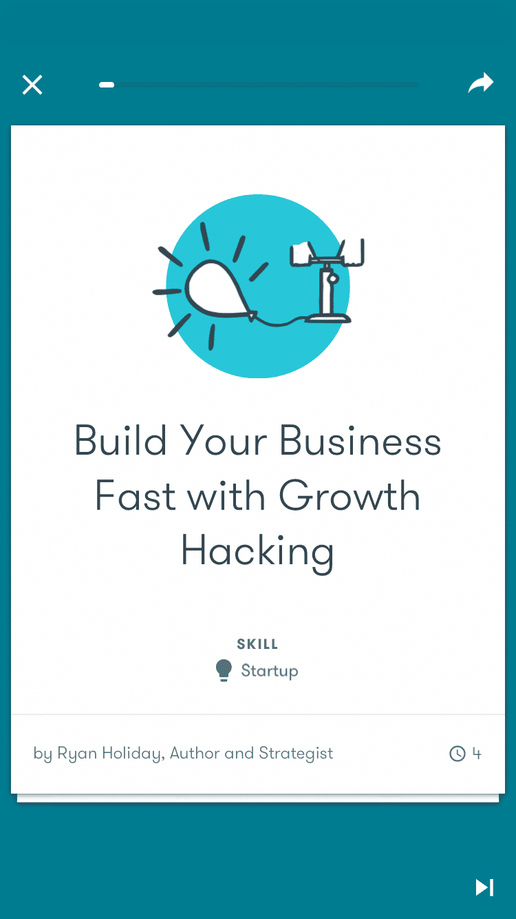 Google Primer growth hacking lesson
