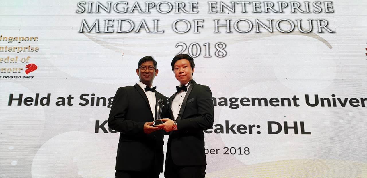 Intercorp solution kelvin koh award