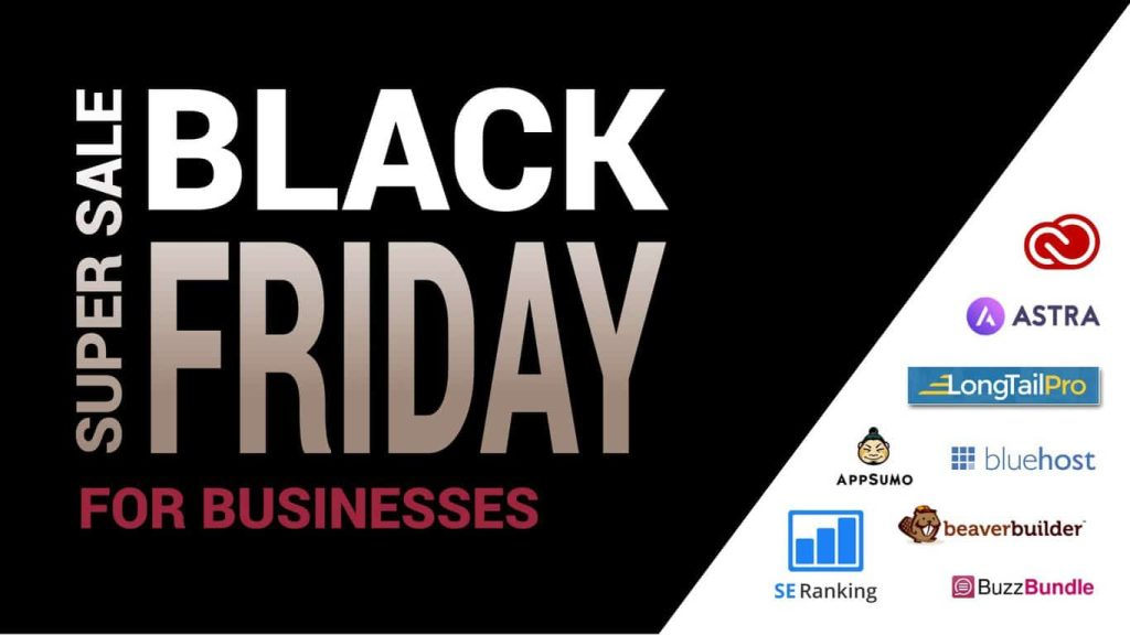 Black Friday 2018: 8 Software Deals for Your Business