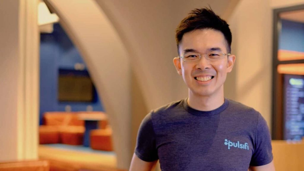 Jay Huang Pulsifi co founder CEO