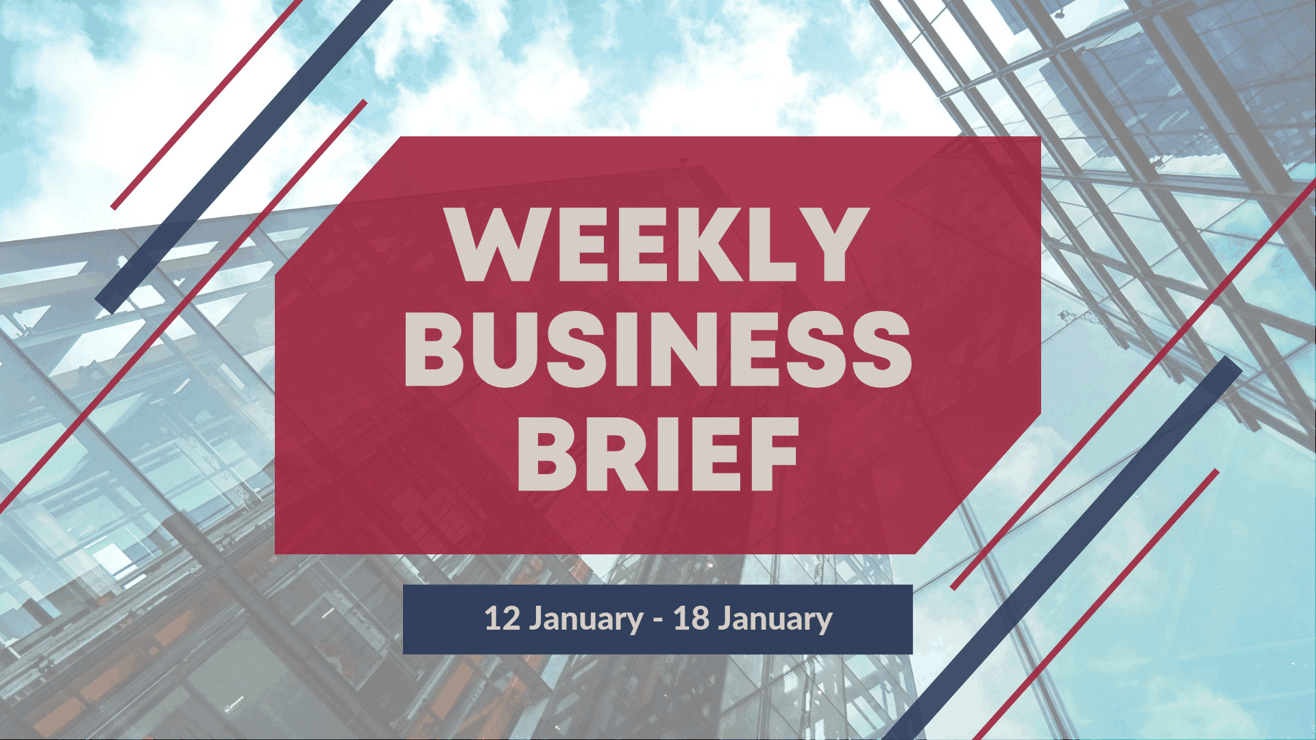 SBO Weekly Business Brief 2019 Week 3
