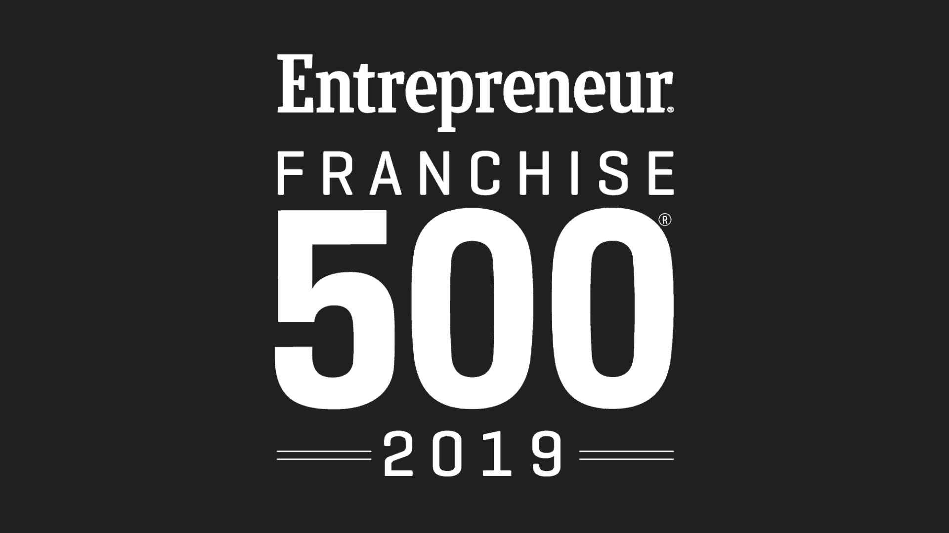 Entrepreneur Franchise 500 2019 logo featured