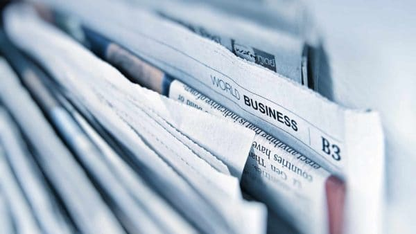 Business newspaper media