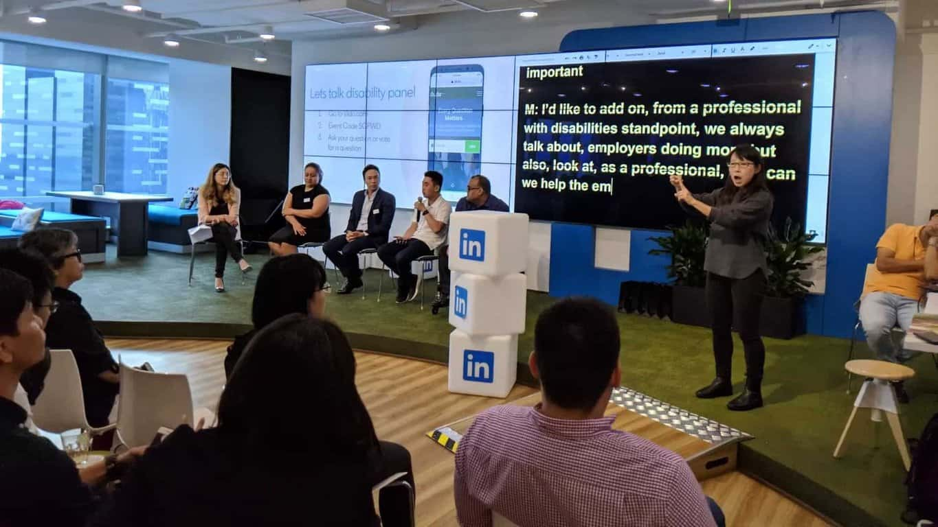 Singapore Professionals with Disabilities Network Launch