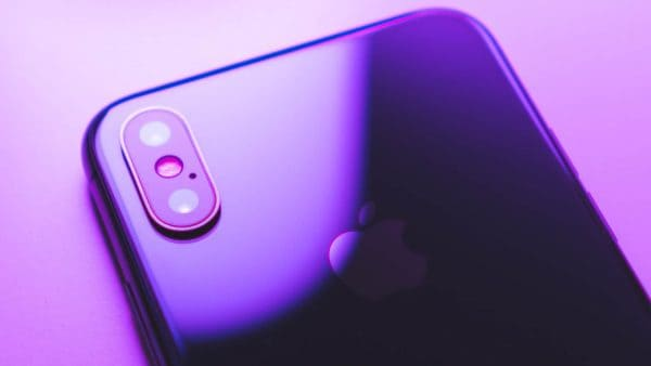 TPG iphone purple