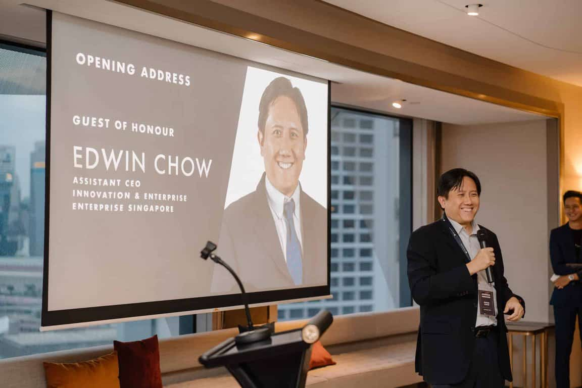 Tribe Accelerator Launch Night Edwin Chow Enterprise Singapore