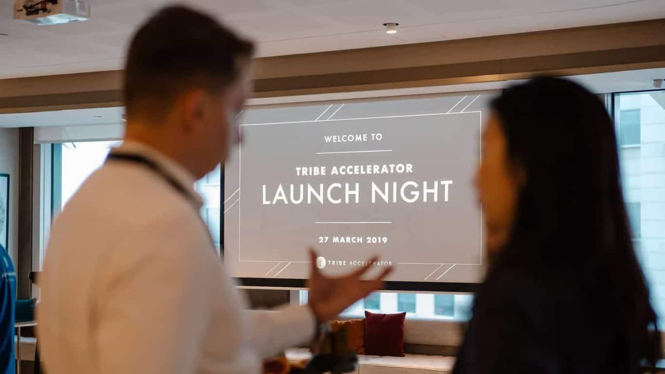 Tribe Accelerator Launch Night