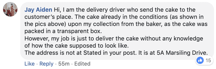 Always 22 By Lola The Baker alleged delivery guy