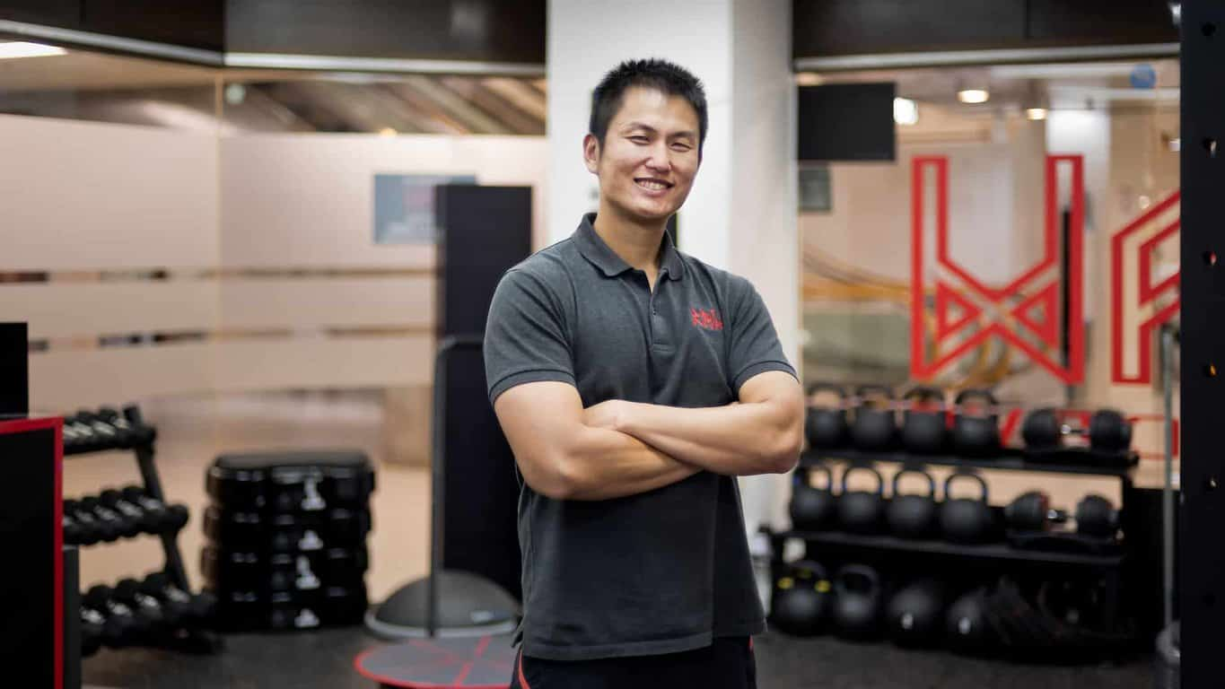 RAW Active Founder Glenn Ang