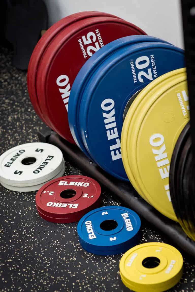 RAW Active weight plates
