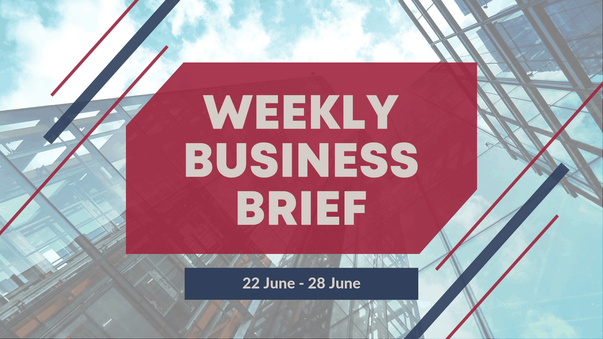 SBO Singapore Weekly Business Brief