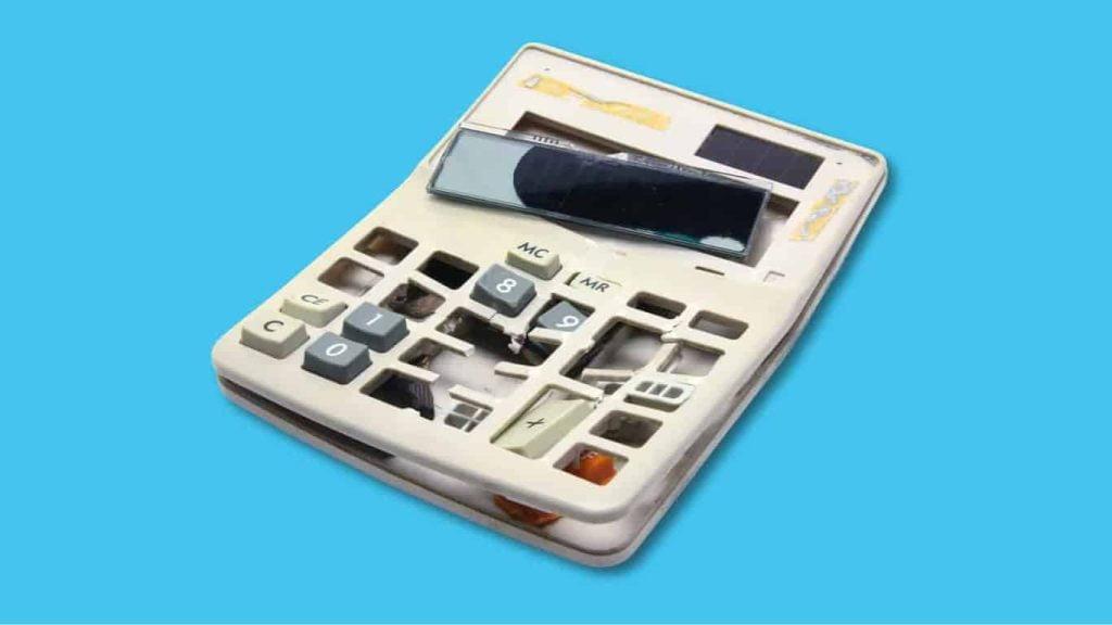 sbo xero broken calculator