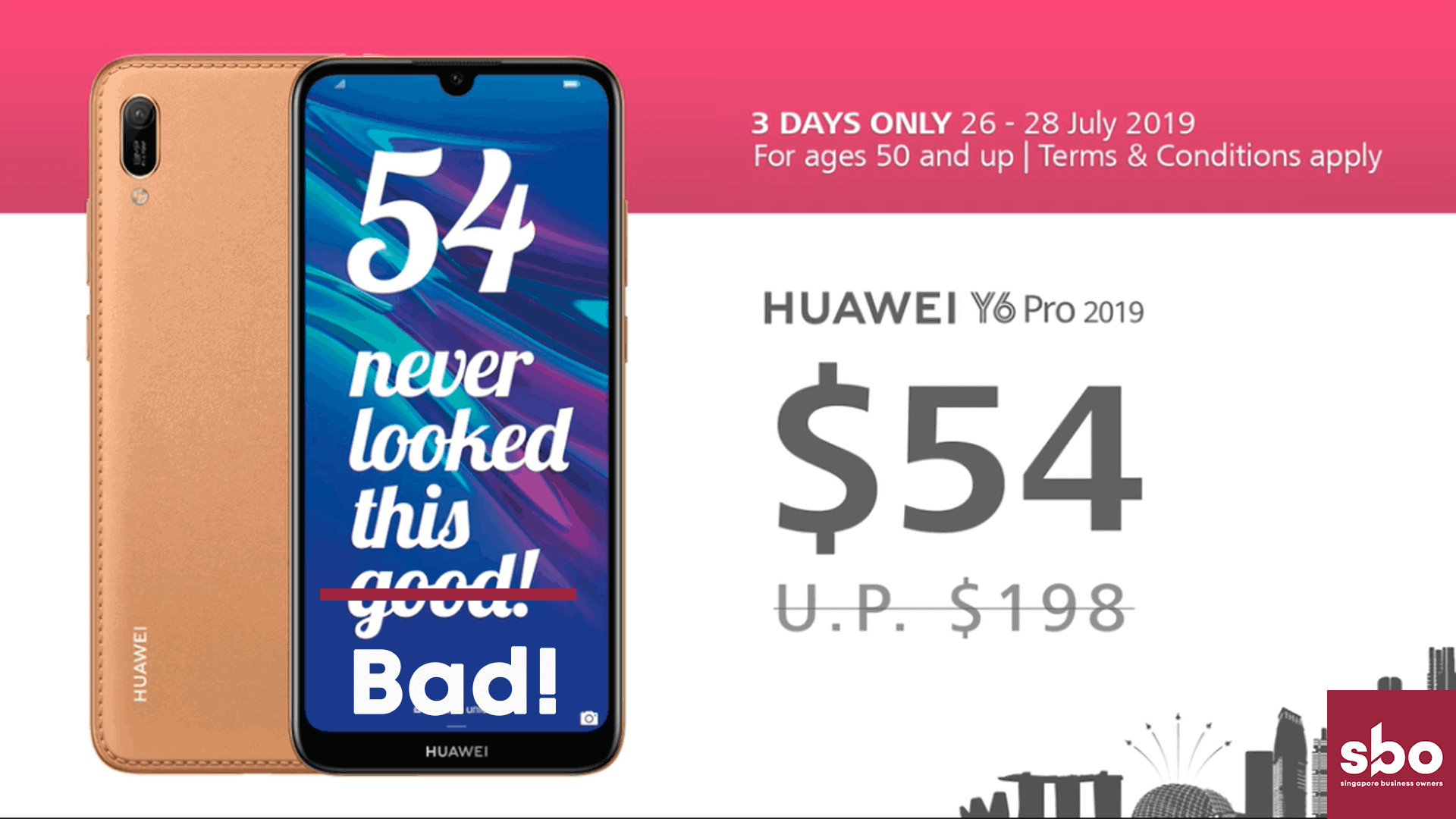 Huawei $54 Promotion
