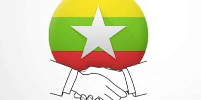 Myanmar Handshake business