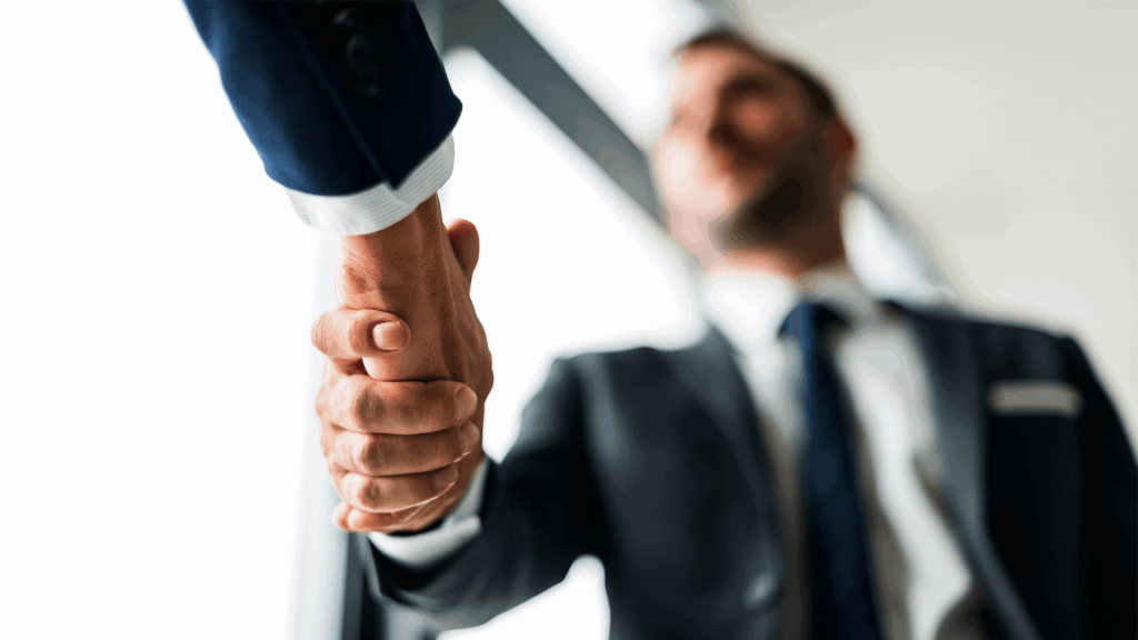 Business Development Shaking Hands