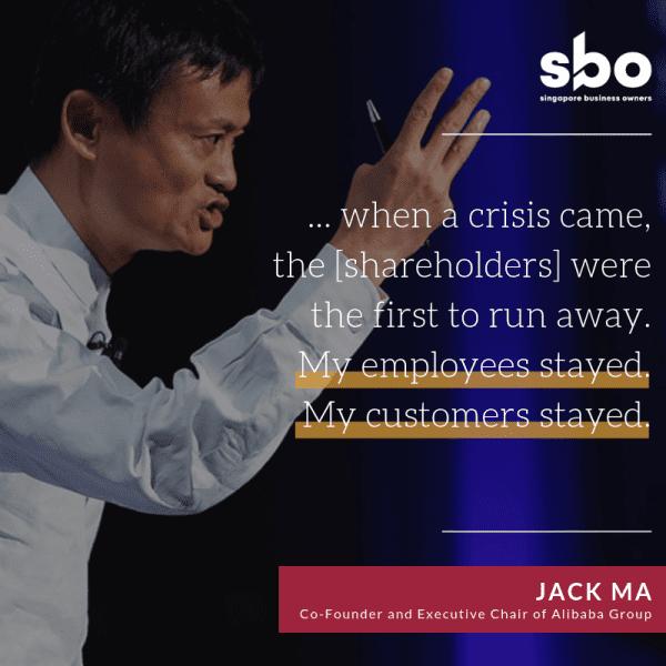 Jack Ma Advice