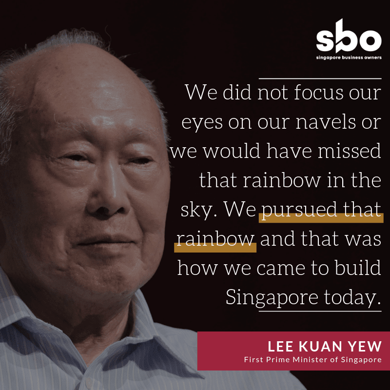 Lee Kuan Yew Quote