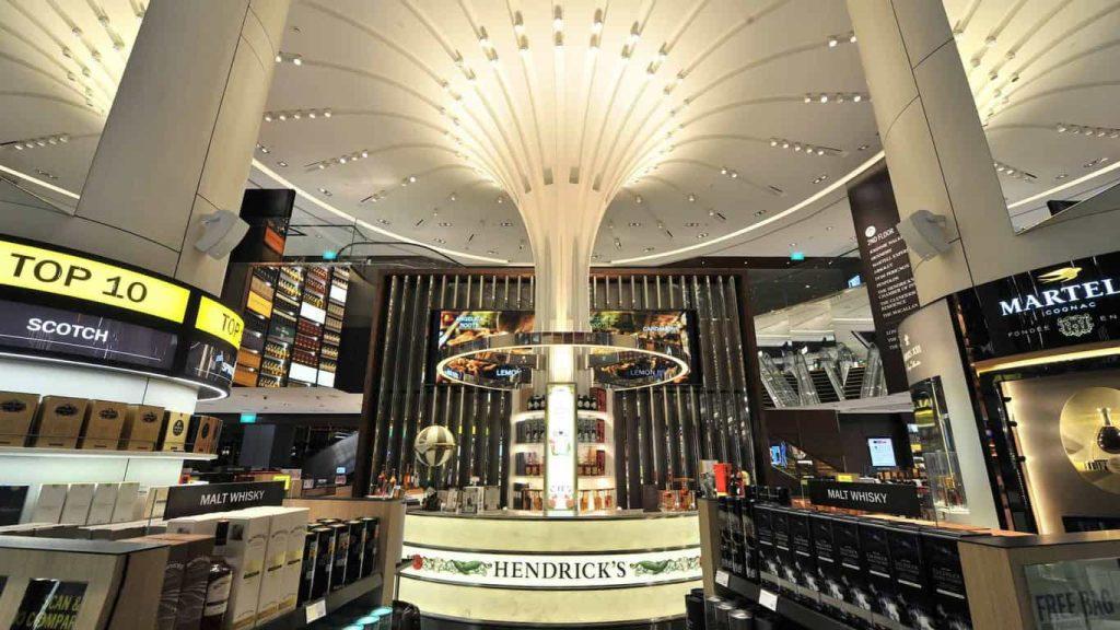 DFS Singapore liquor store