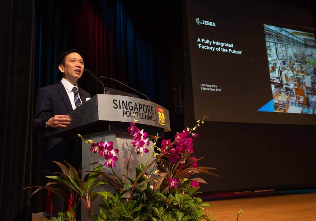 Advanced Manufacturing Collaboration Between Singapore Polytechnic and Zebra Technologies