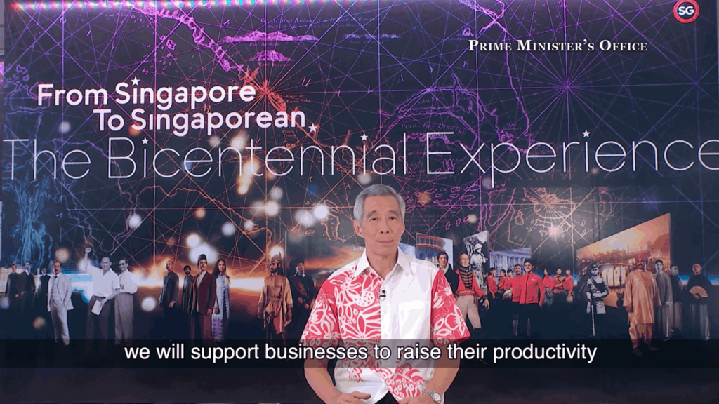 PM Lee 2020 new year message