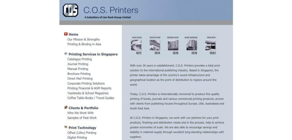 best printing companies in singapore_cos printers