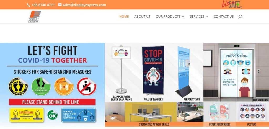 best printing companies in singapore_display express