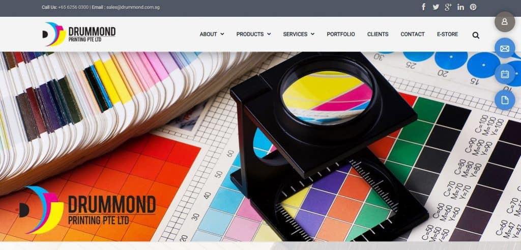 best printing companies in singapore_drummond printing