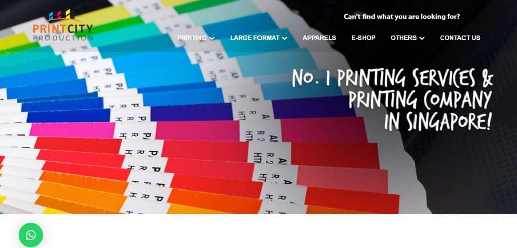 best printing companies in singapore_print city