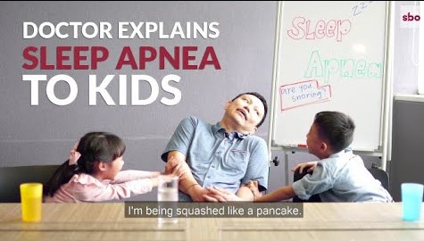 Doctor Explains Sleep Apnea To Kids