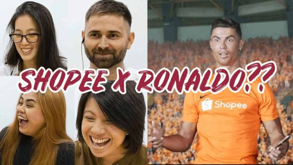 Entrepreneurs and professionals react to Shopee's ad featuring Cristiano Ronaldo