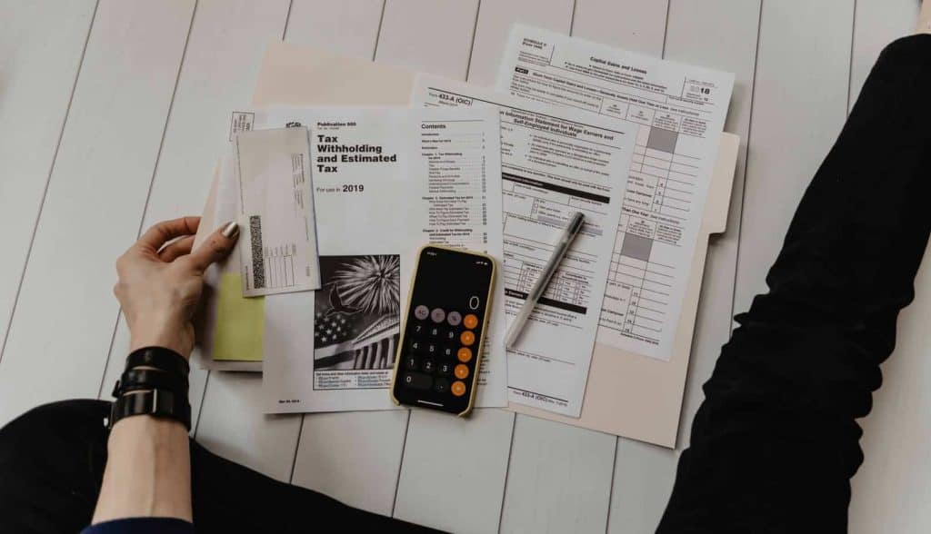 Tax documents and calculation