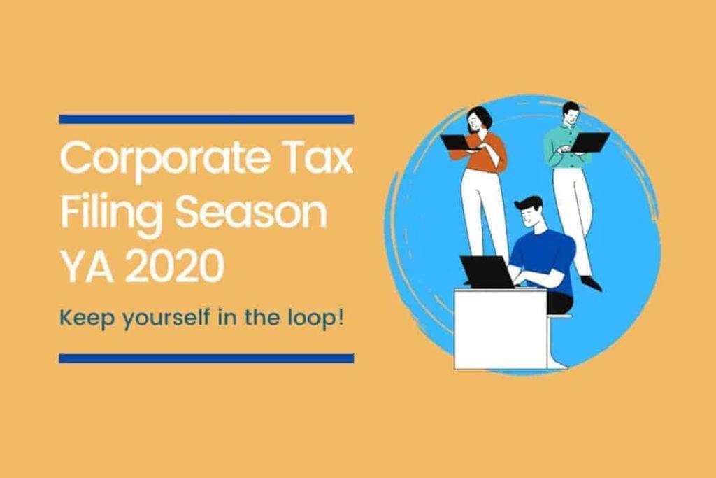iras corporate tax filing 2020