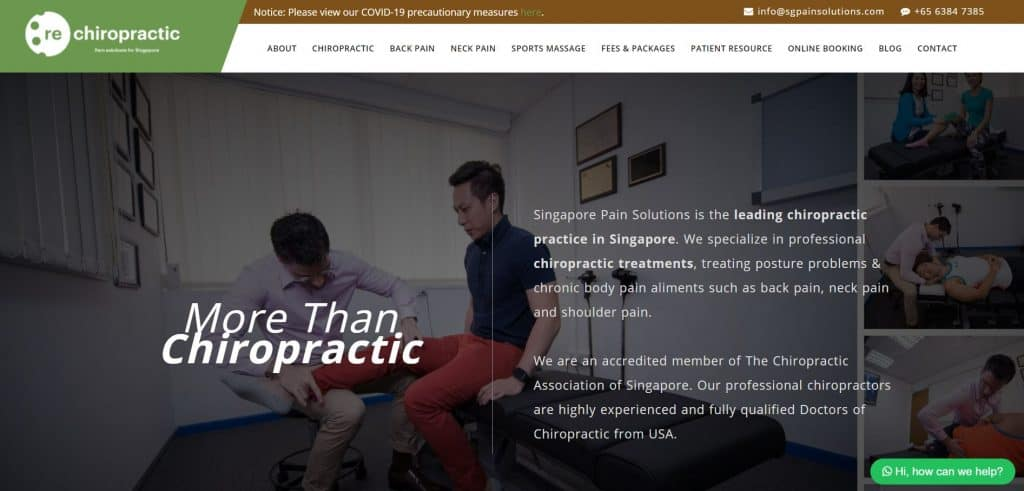 Best Chiropractor in Singapore_SGPS