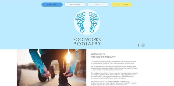 Footworks Podiatry - Top 5 Podiatrist in Singapore