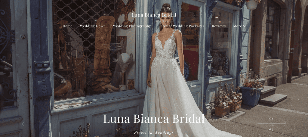 best wedding gown rental in singapore_luna bianca