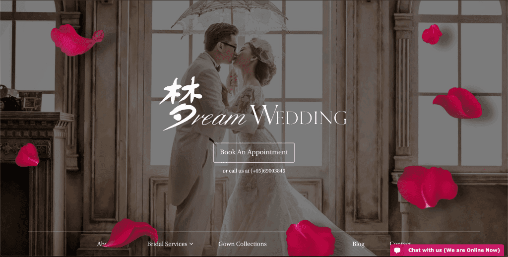best wedding gown rental in singapore_dream wedding boutique
