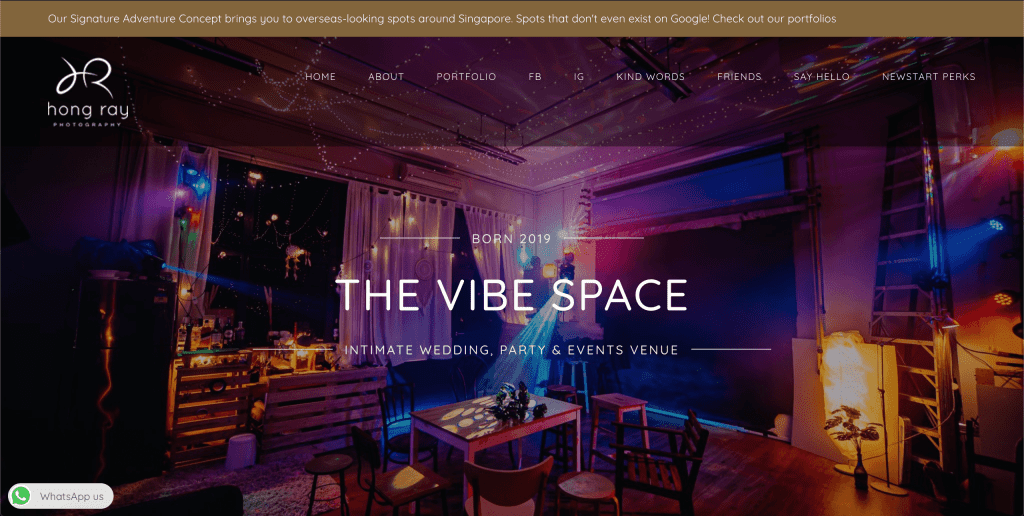 best event space in singapore_the vibe space
