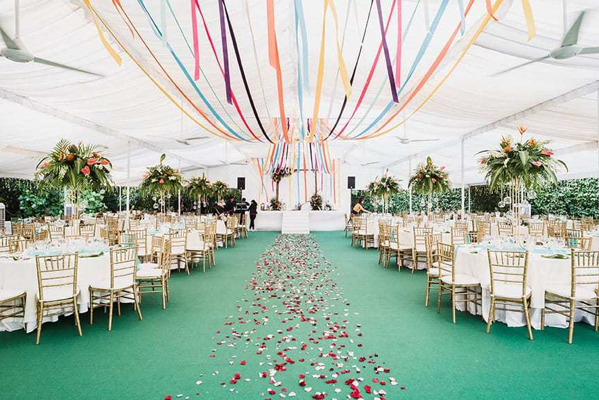 12 Wedding Planners in Singapore   Where Reality Is Better than Your Dreams Wedding Diary Tropical Garden Theme