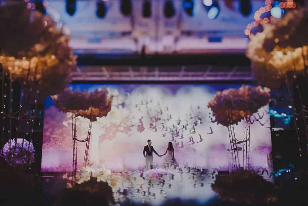 12 Wedding Planners in Singapore   Where Reality Is Better than Your Dreams Heaven's Gift Scrapbook Wedding Theme