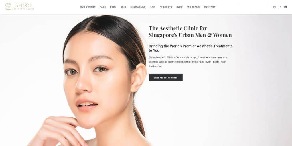 best aesthetic clinic in singapore_shiro aesthetic clinic