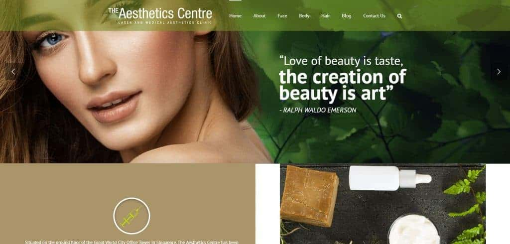 best aesthetic clinic in singapore_the aesthetics centre