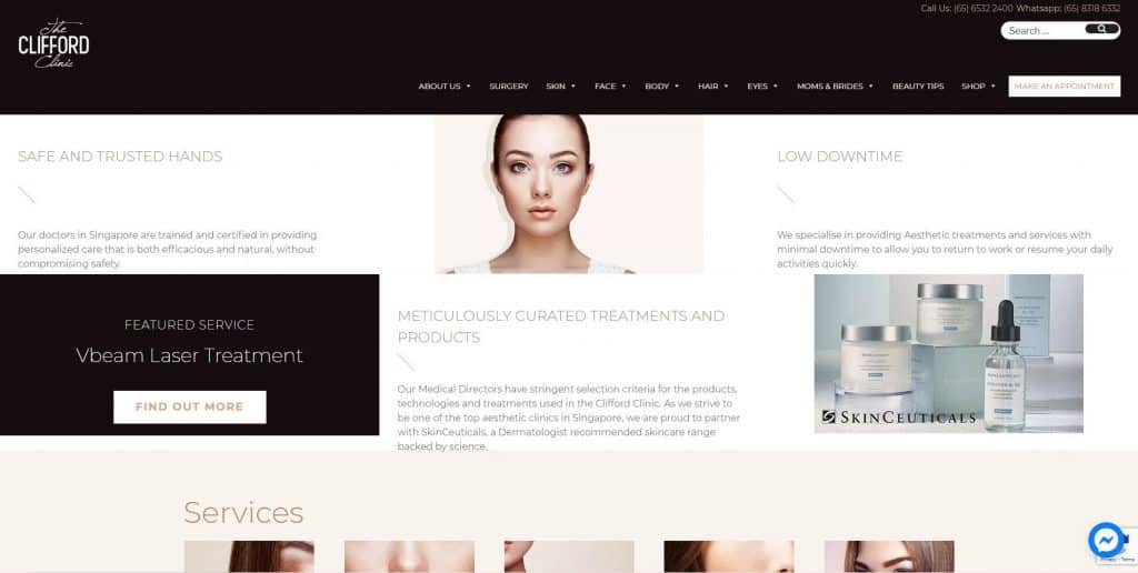best aesthetic clinic in singapore_the clifford clinic