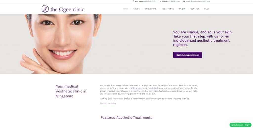 best aesthetic clinic_the ogee clinic