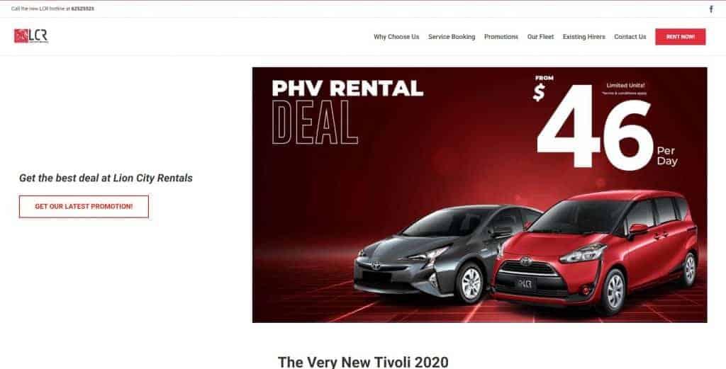 best car rental in singapore_lcr