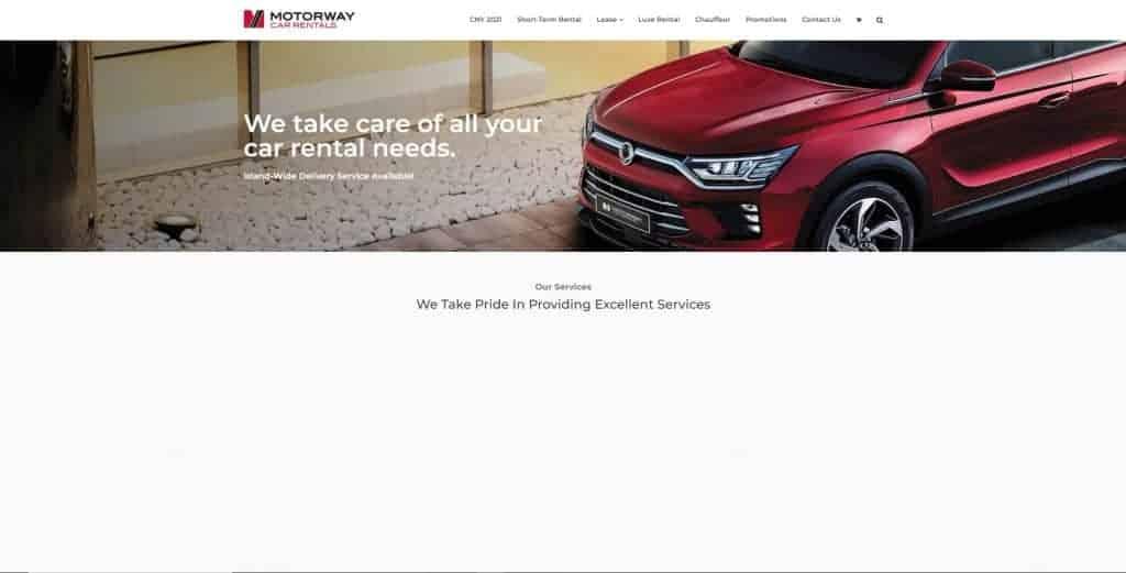 best car rental in singapore_motorway