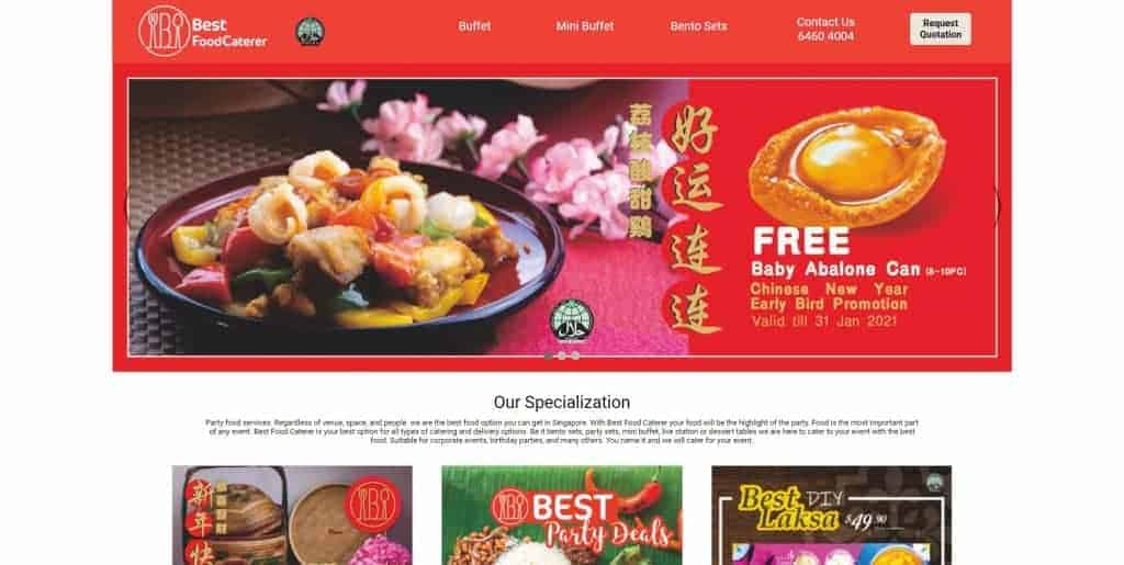 best catering in singapore_best food caterer