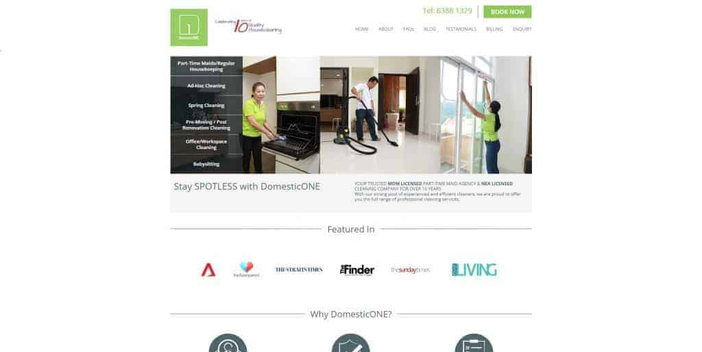 best cleaning service in singapore_domestic one