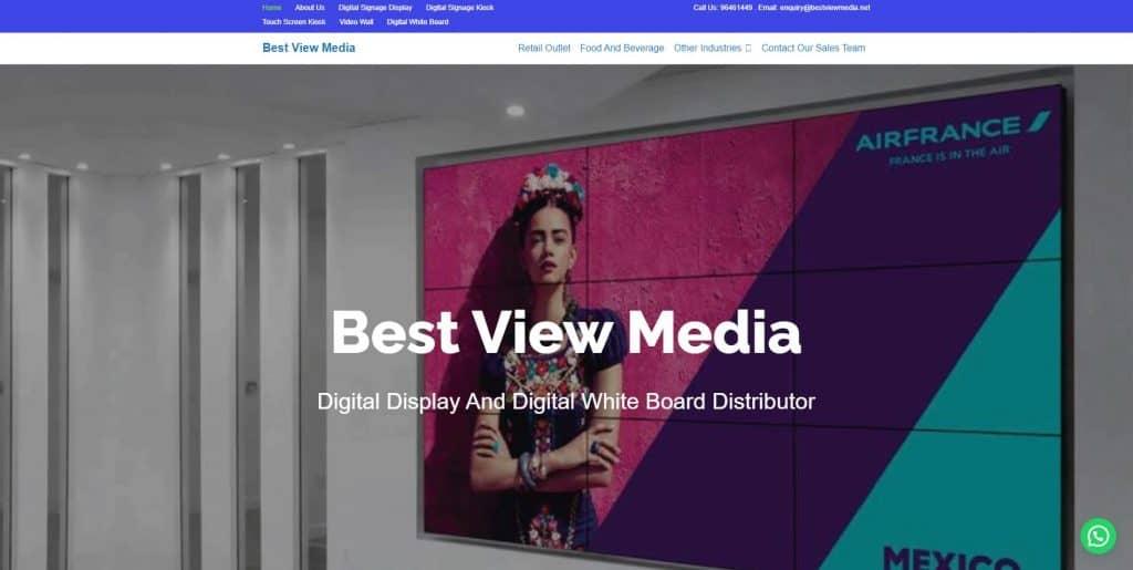 best digital display in singapore_best view media