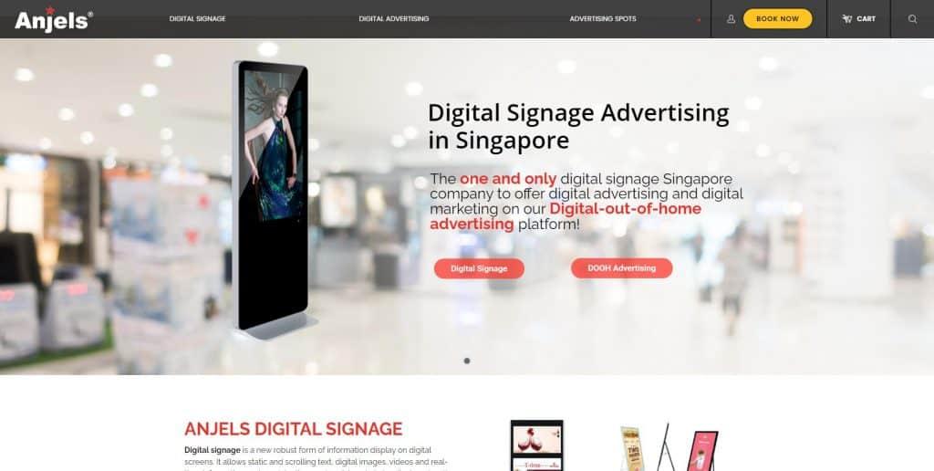 best digital display singapore_anjels media