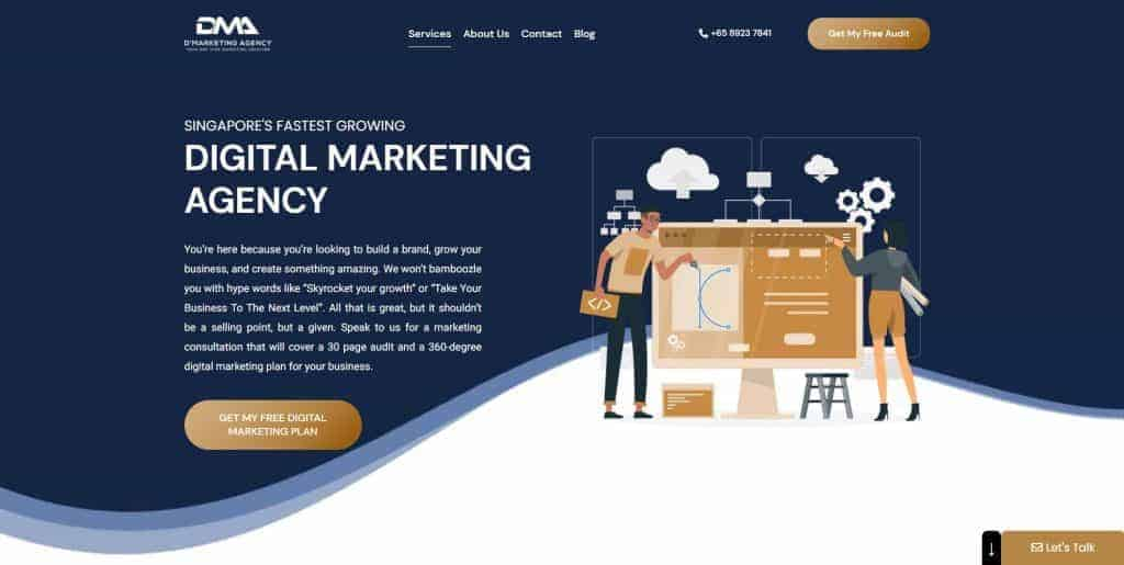 best digital marketing agencies in singapore_d marketing agency